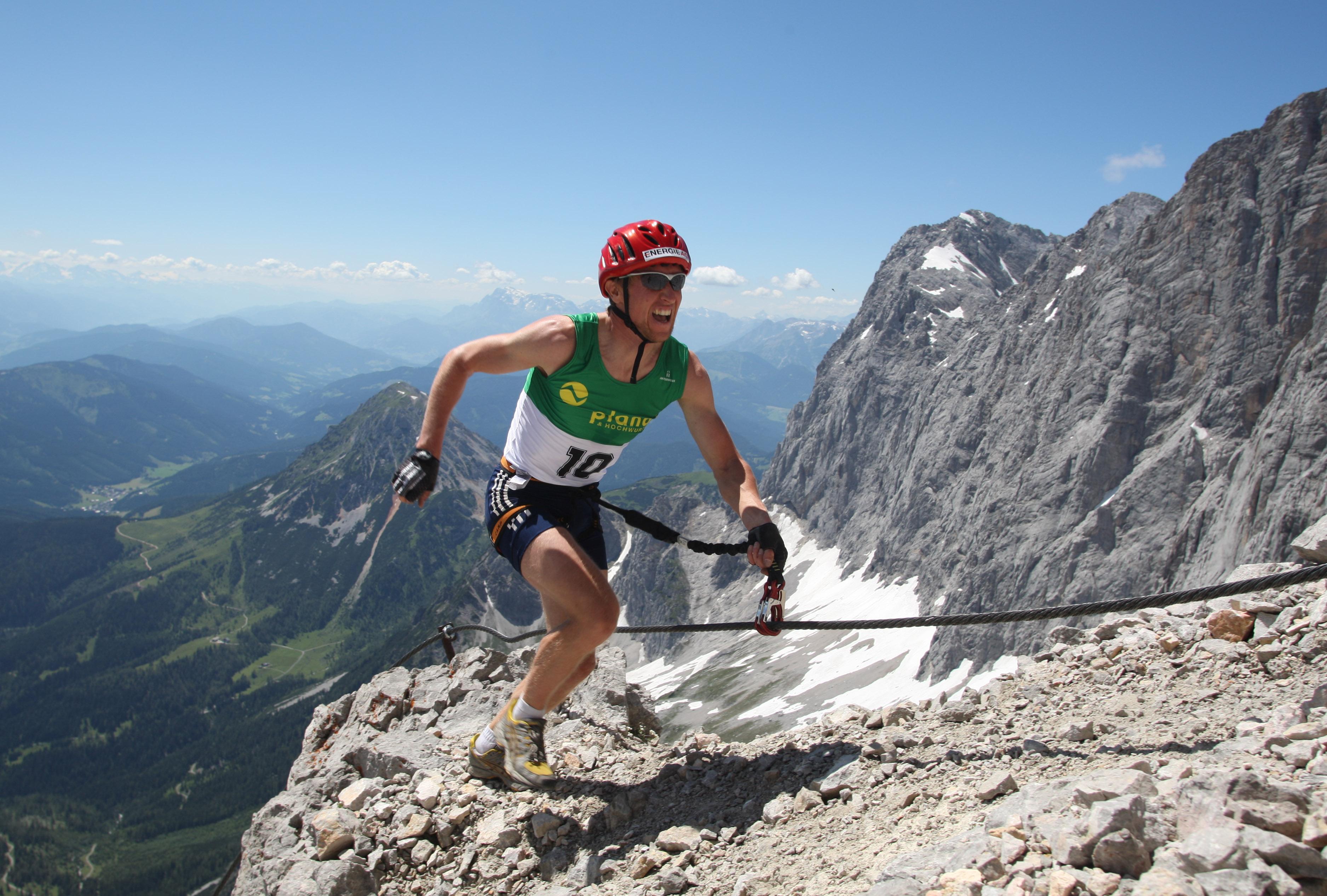 Klettersteig Dachstein : Dachstein superferrata laemmerer